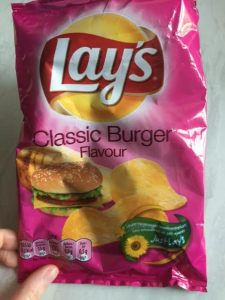 Lay's Classic Burger