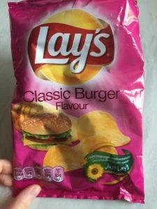 Lay's Classic Burger